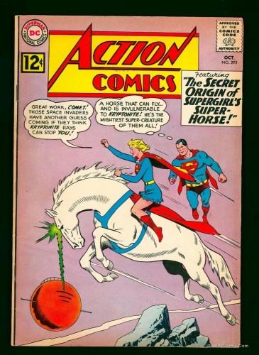 Item: Action Comics #293 VG/FN 5.0