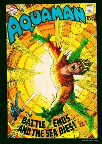 Item: Aquaman #49 NM- 9.2 White
