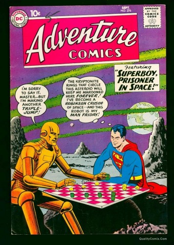 Item: Adventure Comics #276 VF+ 8.5 White