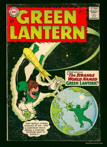 Item: Green Lantern #24 FN- 5.5