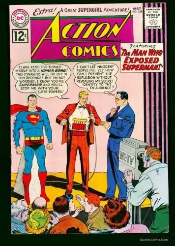 Item: Action Comics #288 FN 6.0 White