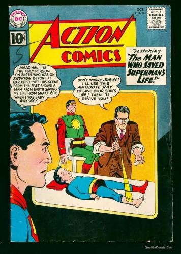 Item: Action Comics #281 VG+ 4.5 Off-White to White