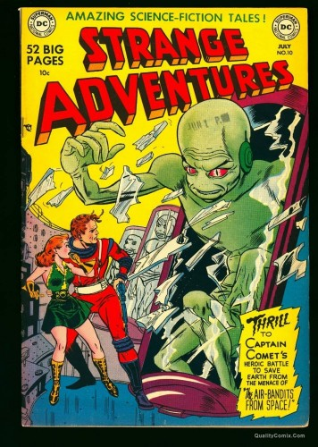 Item: Strange Adventures #10 VF+ 8.5