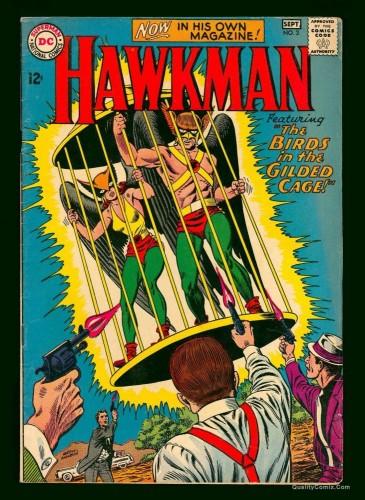 Item: Hawkman #3 FN 6.0 White