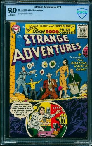 Item: Strange Adventures #73 CBCS VF/NM 9.0 White White Mountain