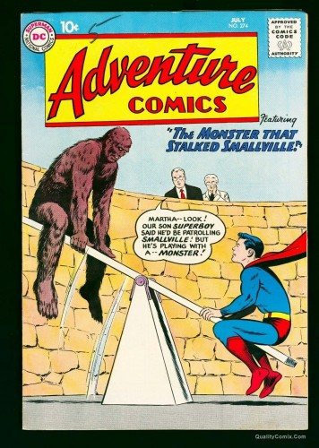 Item: Adventure Comics #274 FN/VF 7.0 White