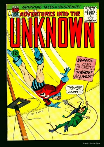 Item: Adventures Into The Unknown #158 VF+ 8.5 Bethlehem