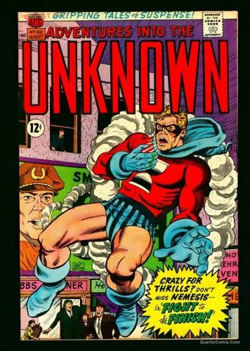 Item: Adventures Into The Unknown #166 NM- 9.2 Bethlehem