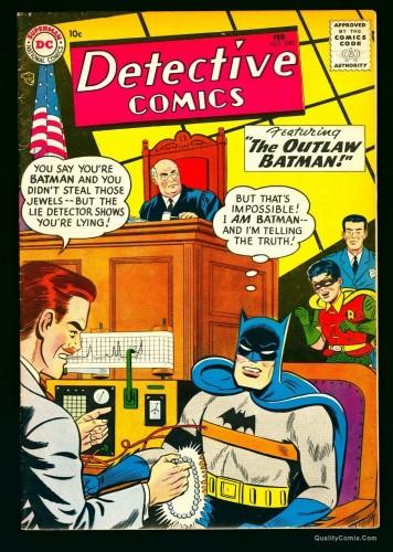 Item: Detective Comics #240 VF- 7.5