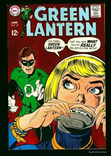 Item: Green Lantern #69 NM+ 9.6 White