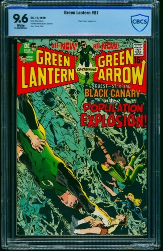 Item: Green Lantern #81 CBCS NM+ 9.6 White
