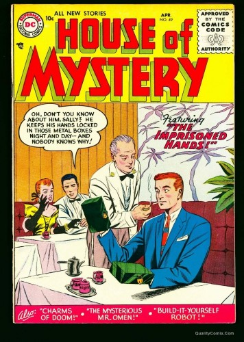 Item: House Of Mystery #49 VF/NM 9.0 White Bethlehem