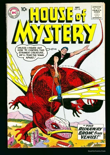 Item: House Of Mystery #90 VF 8.0 White