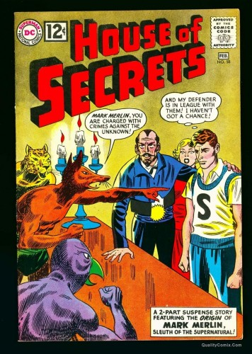 Item: House Of Secrets #58 VF 8.0 White