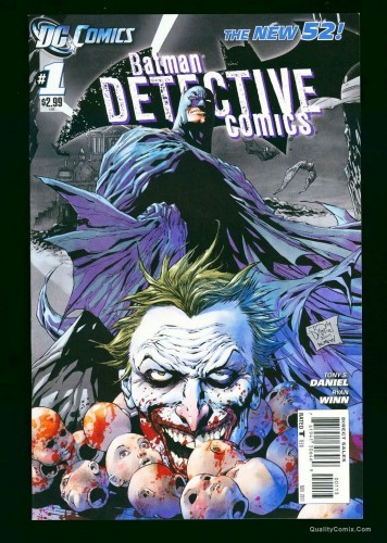 Item: Detective Comics New 52 #1 VF/NM 9.0 3rd Printing