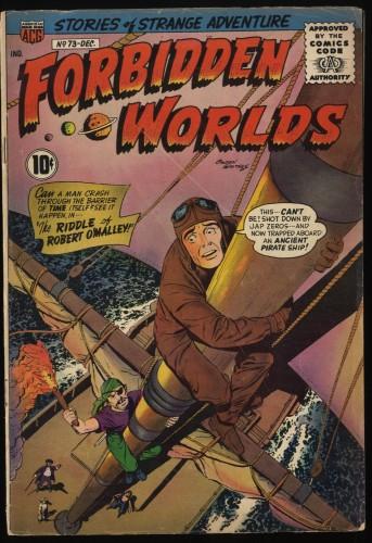 Item: Forbidden Worlds #73 VG- 3.5 1st Herbie