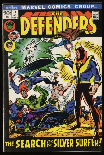 Item: Defenders #2 FN/VF 7.0