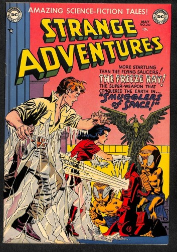 Item: Strange Adventures #20 NM 9.4 White Mountain