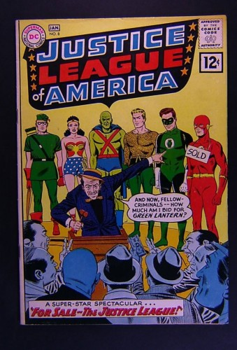 Item: Justice League Of America #8 FN/VF 7.0