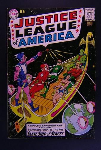 Item: Justice League Of America #3 FN 6.0
