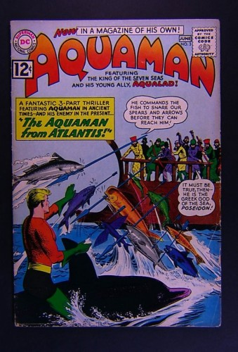 Item: Aquaman #3 VG+ 4.5
