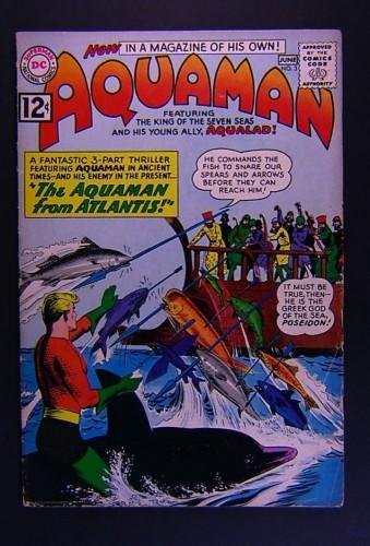 Item: Aquaman #3 VG+ 4.5