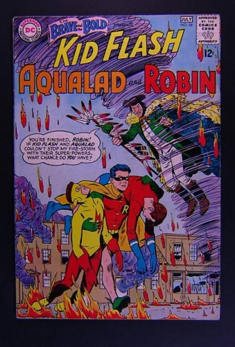 Item: Brave And The Bold #54 FN- 5.5 1st Teen Titans