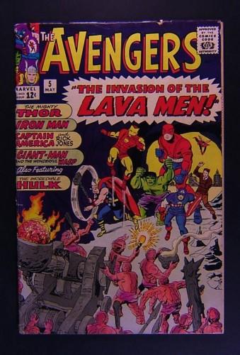 Item: Avengers #5 GD/VG 3.0