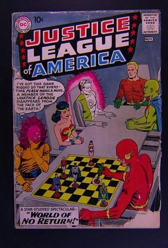Item: Justice League Of America #1 GD- 1.8
