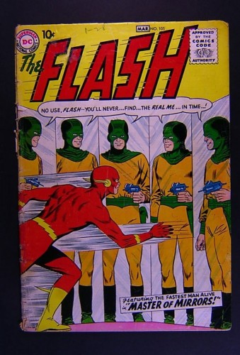 Item: Flash #105 Fair 1.0 (Restored)