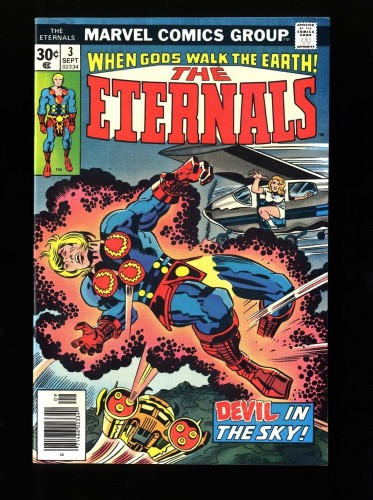 Item: Eternals #3 VF+ 8.5