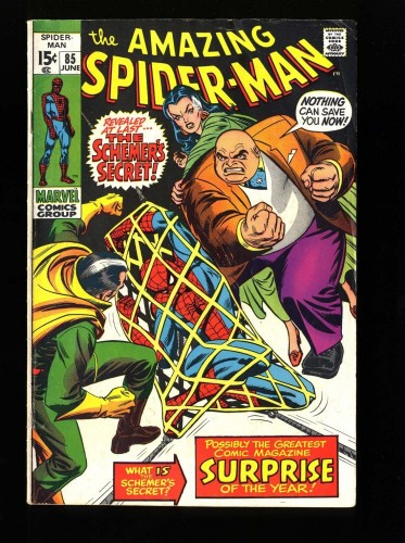 Item: Amazing Spider-Man #85 VG/FN 5.0