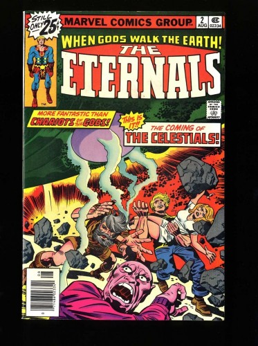 Item: Eternals #2 VF/NM 9.0