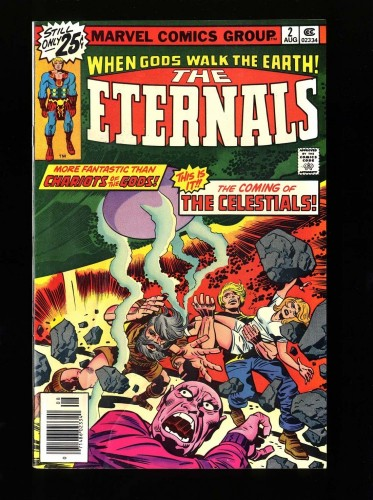 Item: Eternals #2 VF 8.0