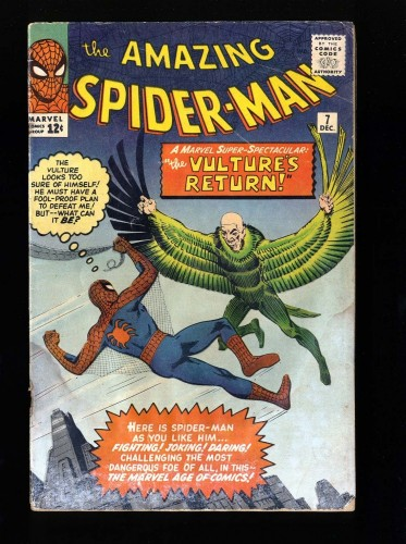 Item: Amazing Spider-Man #7 GD 2.0