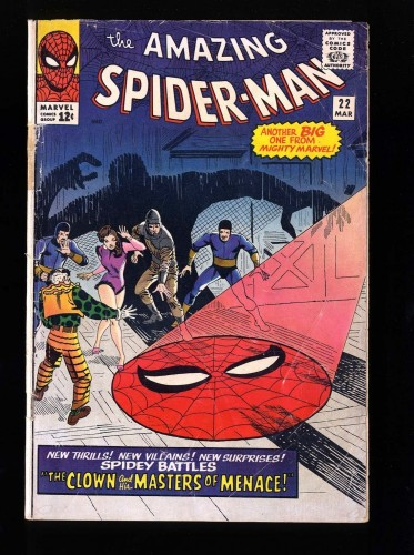 Item: Amazing Spider-Man #22 GD 2.0