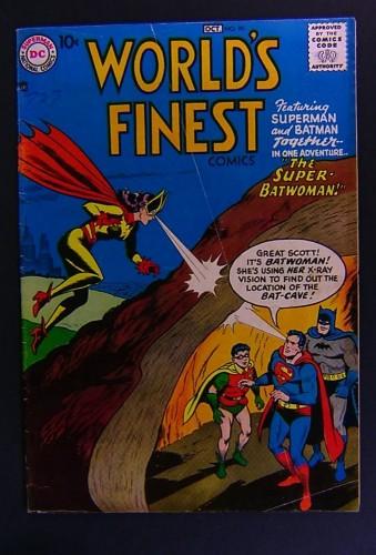 Item: World's Finest Comics #90 VG+ 4.5