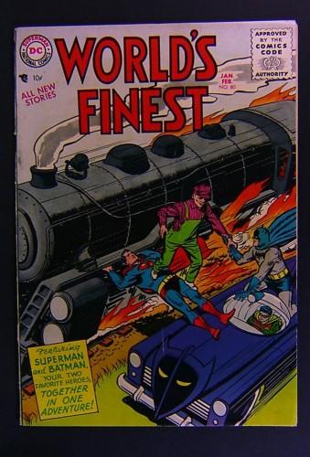 Item: World's Finest Comics #80 VG/FN 5.0