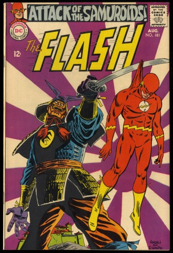 Item: Flash #181 VF 8.0