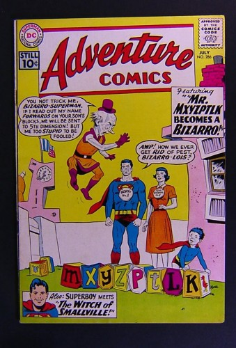 Item: Adventure Comics #286 FN/VF 7.0