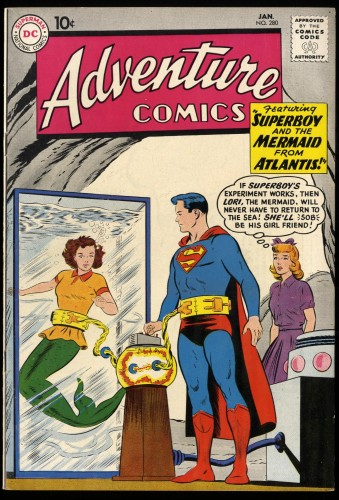Item: Adventure Comics #280 VF+ 8.5