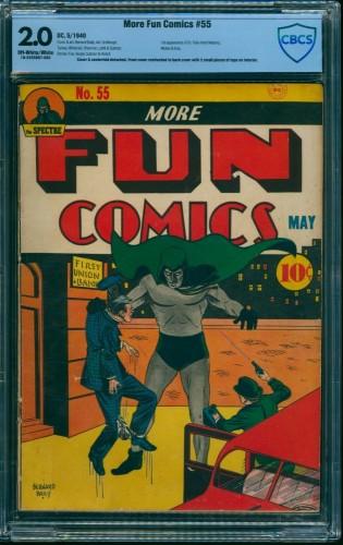 Item: More Fun Comics #55 CBCS GD 2.0 Off White to White