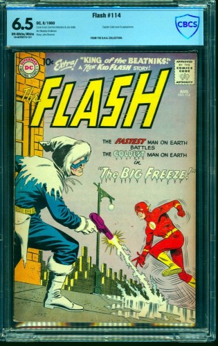 Item: Flash #114 CBCS FN+ 6.5 Off White to White DC Comics