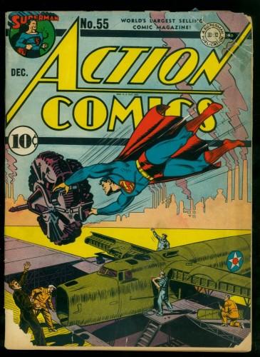 Item: Action Comics #55 GD- 1.8