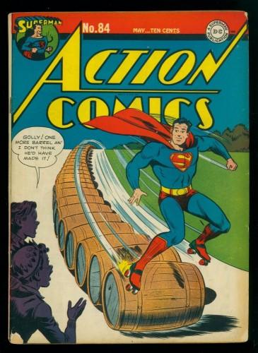 Item: Action Comics #84 VG+ 4.5