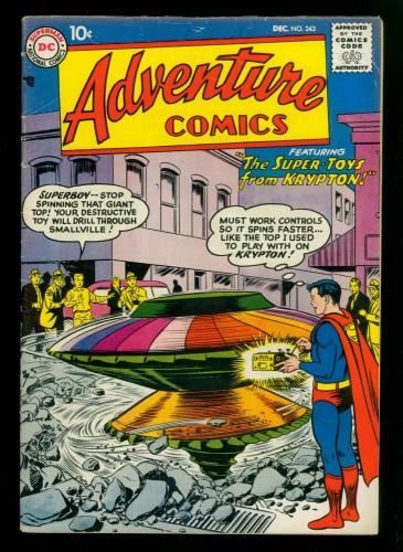 Item: Adventure Comics #243 VG/FN 5.0 DC Superman