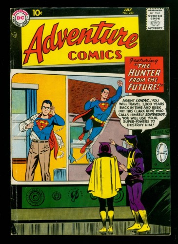 Item: Adventure Comics #250 FN 6.0 White Pages DC Superman