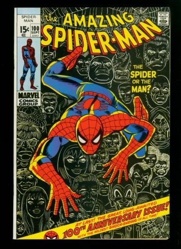 Item: Amazing Spider-Man #100 VF/NM 9.0