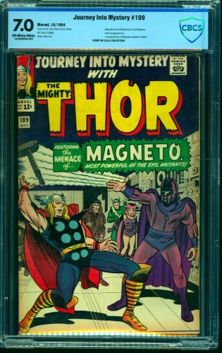 Item: Journey Into Mystery #109 CBCS FN/VF 7.0 Off White to White Marvel Comics Thor