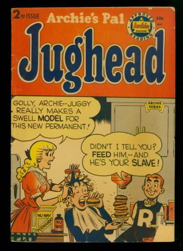 Item: Archie's Pal Jughead #2 GD/VG 3.0